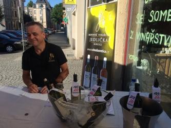 Ochutnávka z vinařství Jedlička